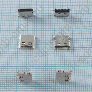Разъем Mini USB - B type - 12 pins - PJ130M