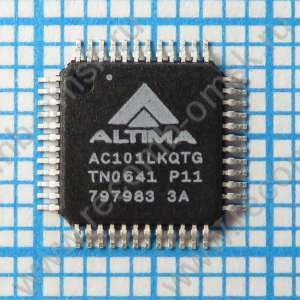 Ultra Low Power 10/100 Ethernet Transceiver with Auto_MDIX - AC101LKQTG
