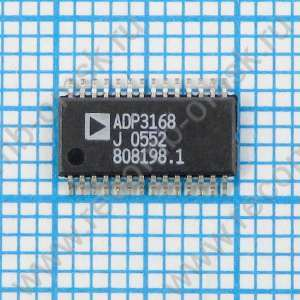 6-Bit Programmable 2 / 3 / 4-Phase Synchronous Buck Controller  - ADP3168