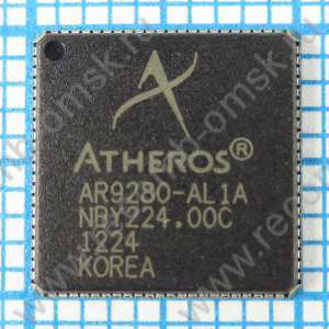 AR9280-AL1A Single-chip 2.4/5 GHz draft 802.11n