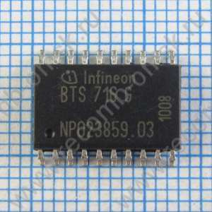 Smart High-Side Power Switch - INFINEON - BTS716G