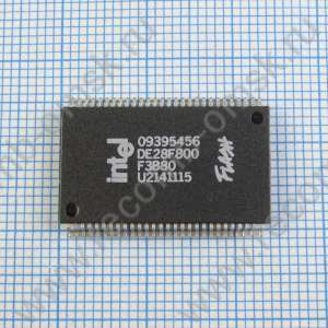 3 Volt Fast Boot Block Flash Memory - DE28F800
