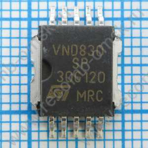 Double channel high-side driver - VND830SP